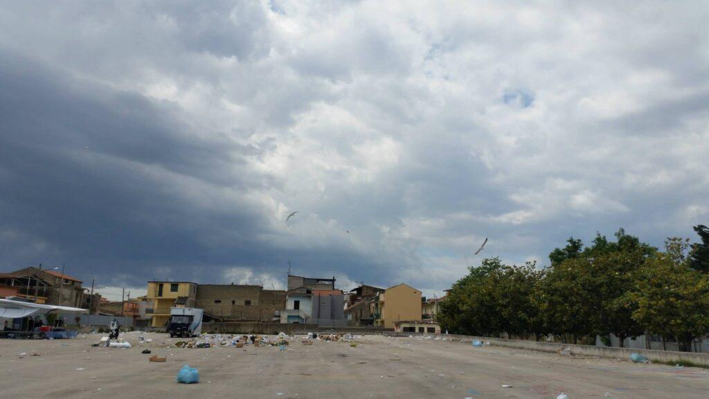 Gricignano – area mercato rifiuti (18)