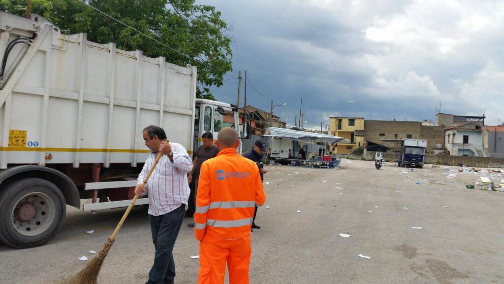 Gricignano – area mercato rifiuti (19)