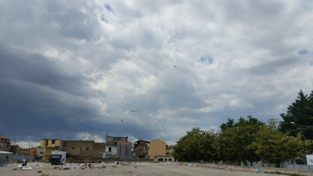 Gricignano – area mercato rifiuti (2)