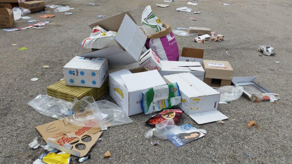 Gricignano – area mercato rifiuti (20)