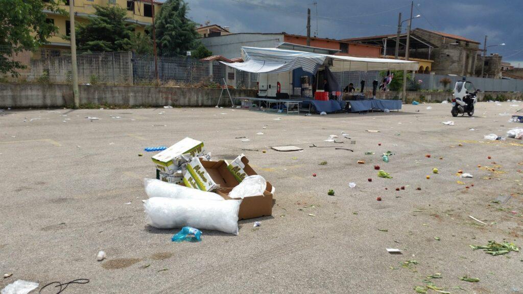 Gricignano – area mercato rifiuti (5)