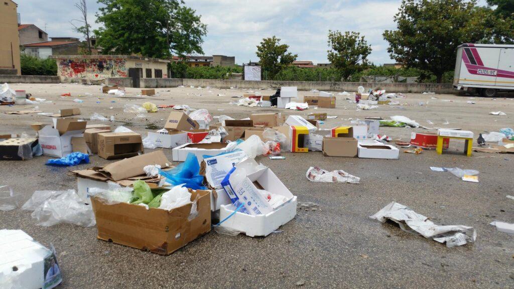 Gricignano – area mercato rifiuti (7)