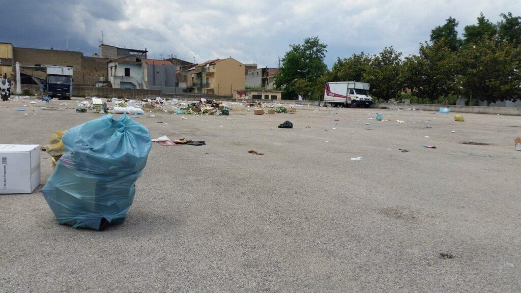 Gricignano – area mercato rifiuti (9)