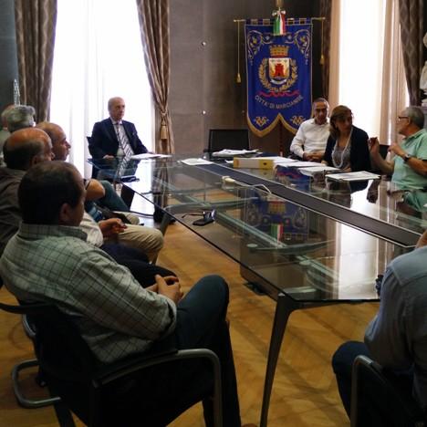 Marcianise – Incontro commercianti-giunta
