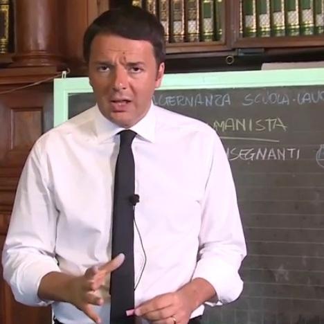 Renzi e la Buona Scuola