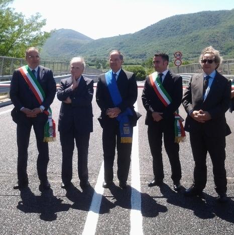 Inaugurato il ponte tubo tra Capua e Pontelatone (1)
