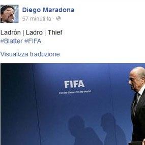 Maradona Blatter