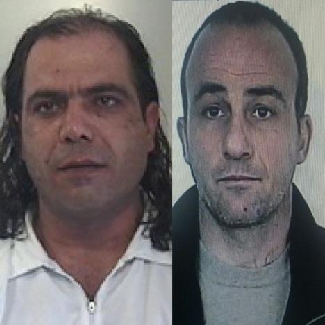 da sin. Raffaele Venosa e Francesco Carannante