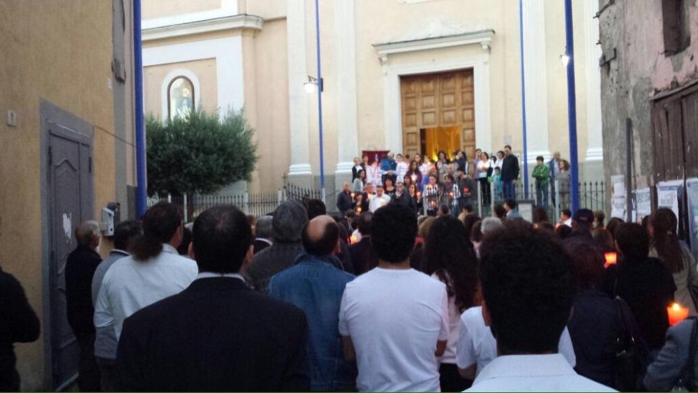 San Marcellino – Fiaccolata per Alessandro e Luigi scomparsi (3)
