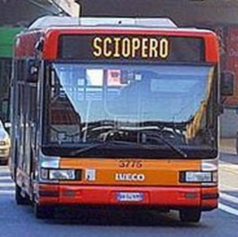 bus sciopero