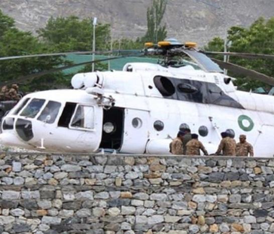 elicottero Palkistan