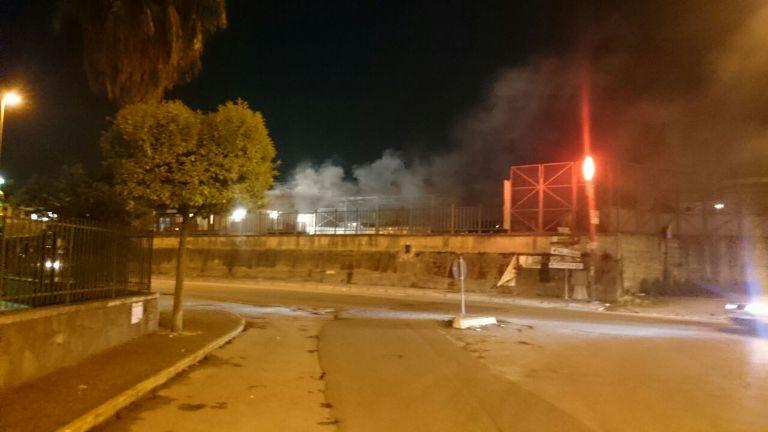 Aversa - Incendio stazione (2)