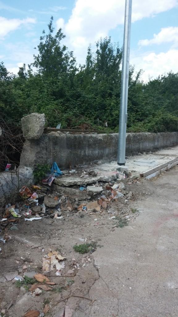 Aversa – Via Repubblica dissesto (4)