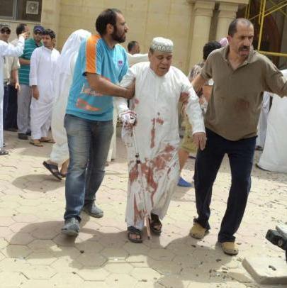 Kuwait – strage moschea