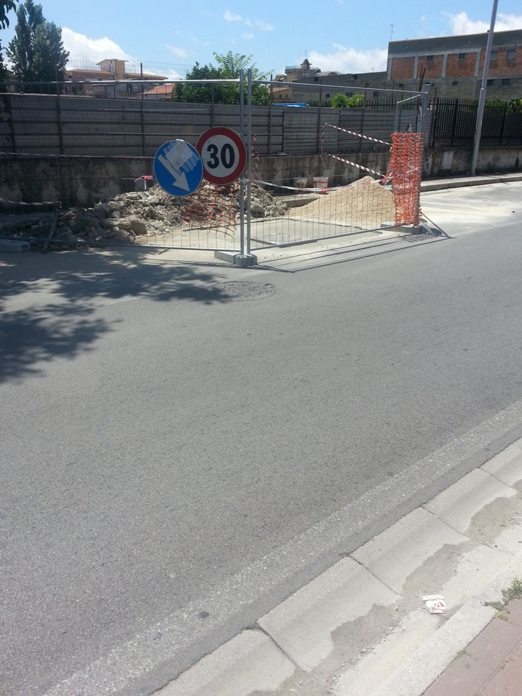 Cesa – Via Matteotti lavori (2)