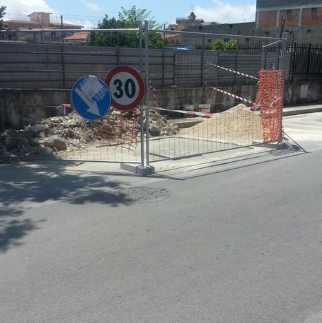 Cesa – Via Matteotti lavori (3)