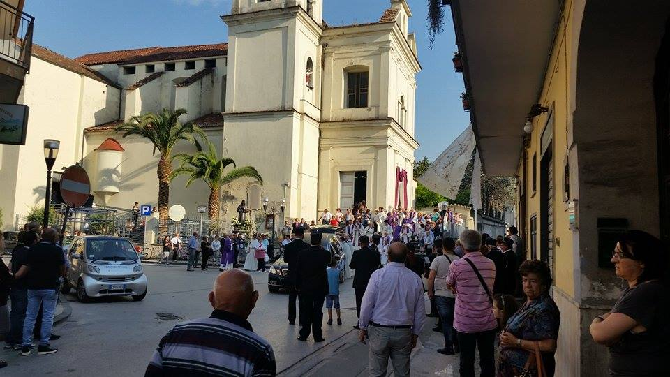 Gricignano – Don Nicola Ronza funerali (1)