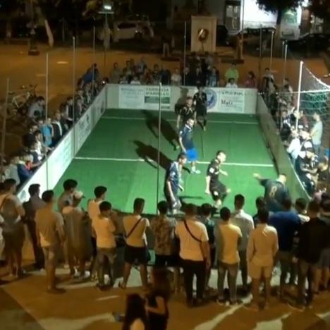 Gricignano street soccer