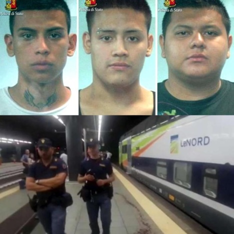 Milano – latinos arrestati