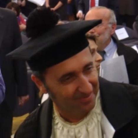 Paolo Sorrentino laurea
