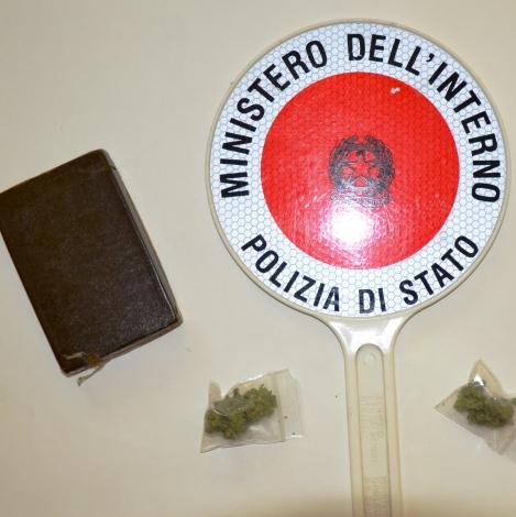 Polizia hashish marijuana