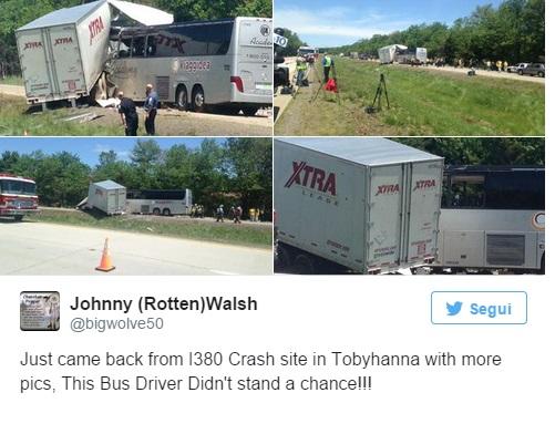 Usa – bus italiano incidente (1)