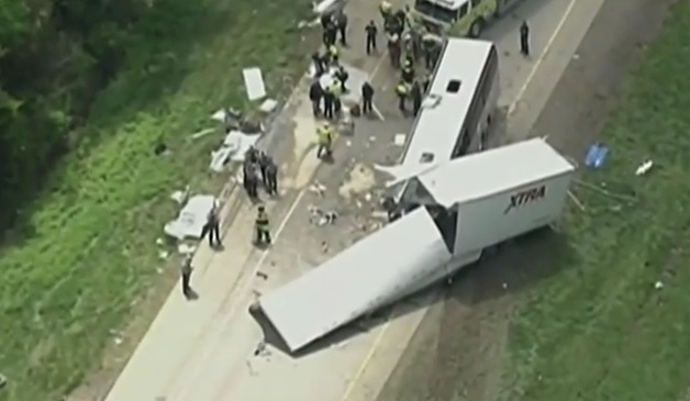 Usa – bus italiano incidente (6)