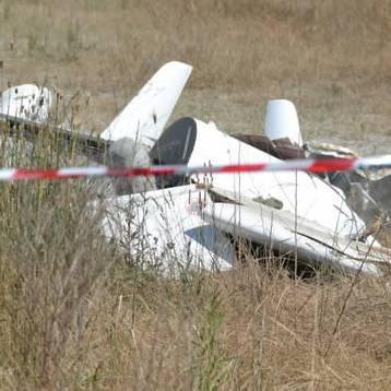 aereo piccolo caduto