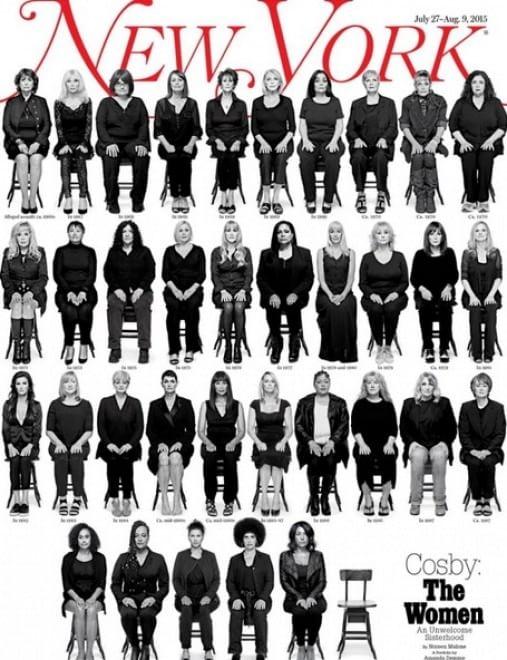Bill Cosby donne copertina