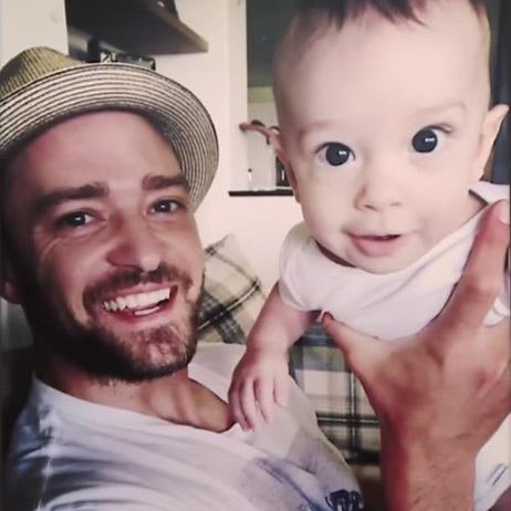Justin Timberlake e silas