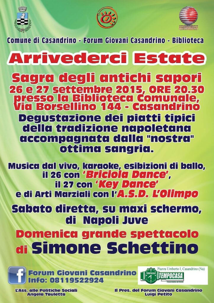 sagra estate casandrino