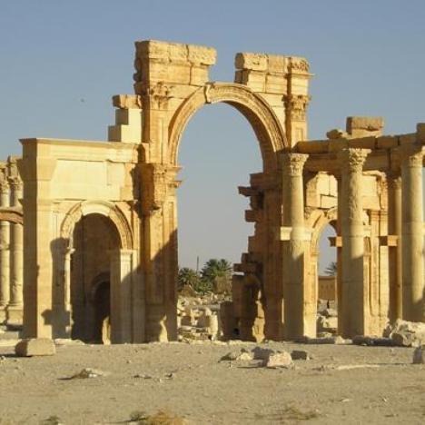arco di trionfo Palmira