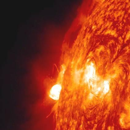 sole eruzioni