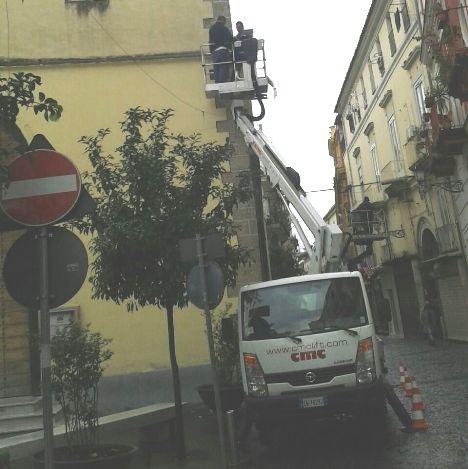 videosorveglianza piazzetta seggio