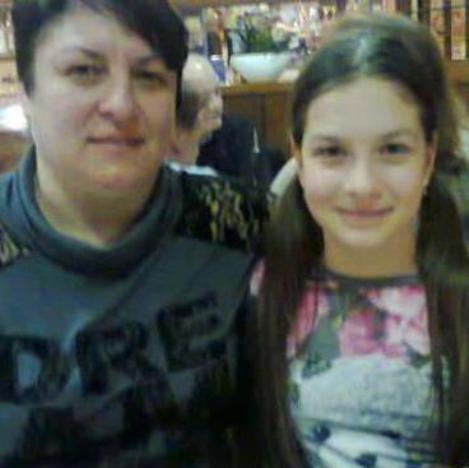 Mirela Balan e figlia