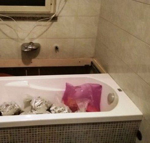 vasca bagno droga