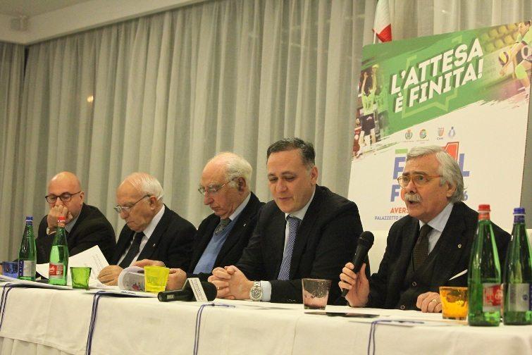 Mobilya aversa conferenza stampa for Mobilya caserta