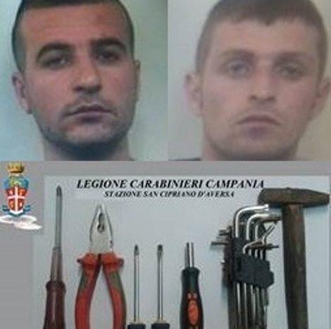 san cipriano albanesi furti
