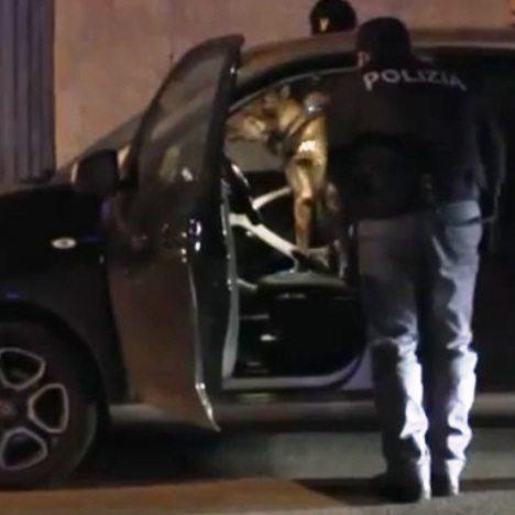 polizia controllo auto