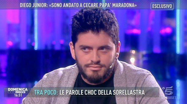 Diego-Armando-Maradona-Junior-Domenica-Live