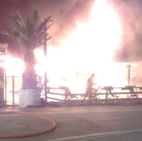 Padova – Incendio distrugge il ristorante brasiliano La Mulata (27.05.16)