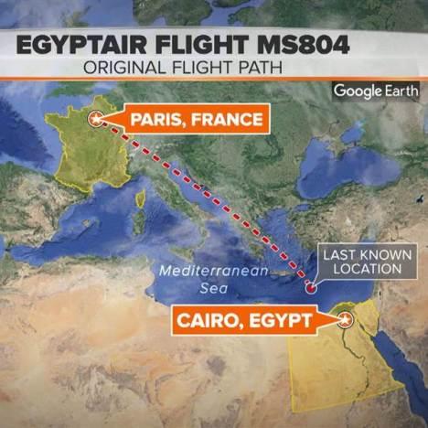 aereo egyptair caduto