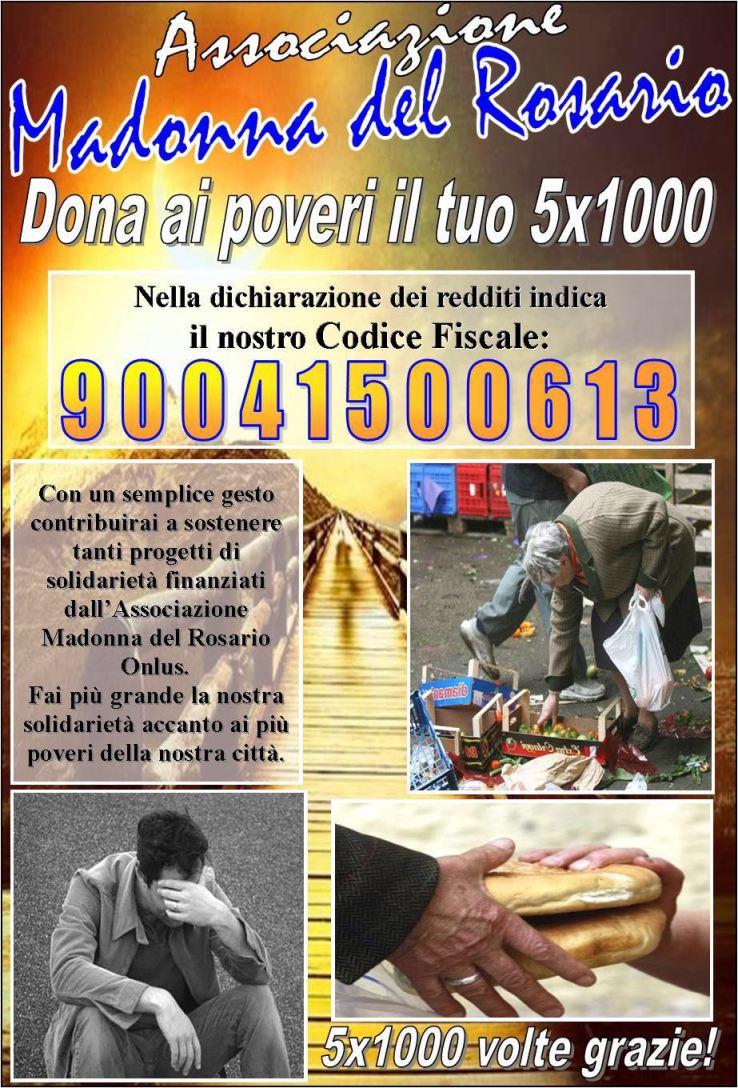 gricignano 5x1000 madonna rosario