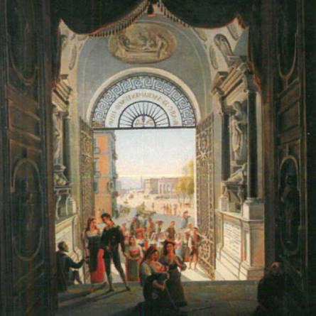 Illustrazione chiesa San Giacomo degli Spagnoli