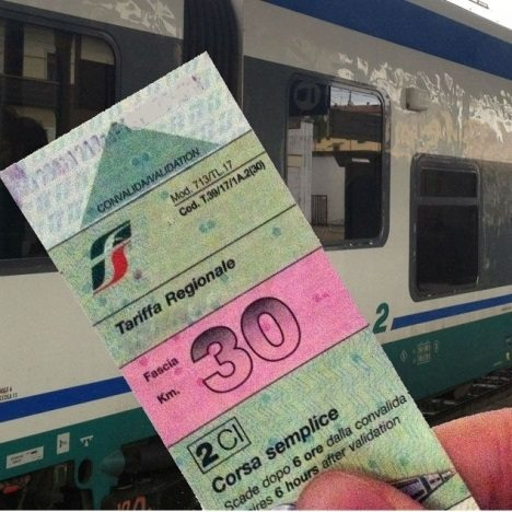 biglietto treno