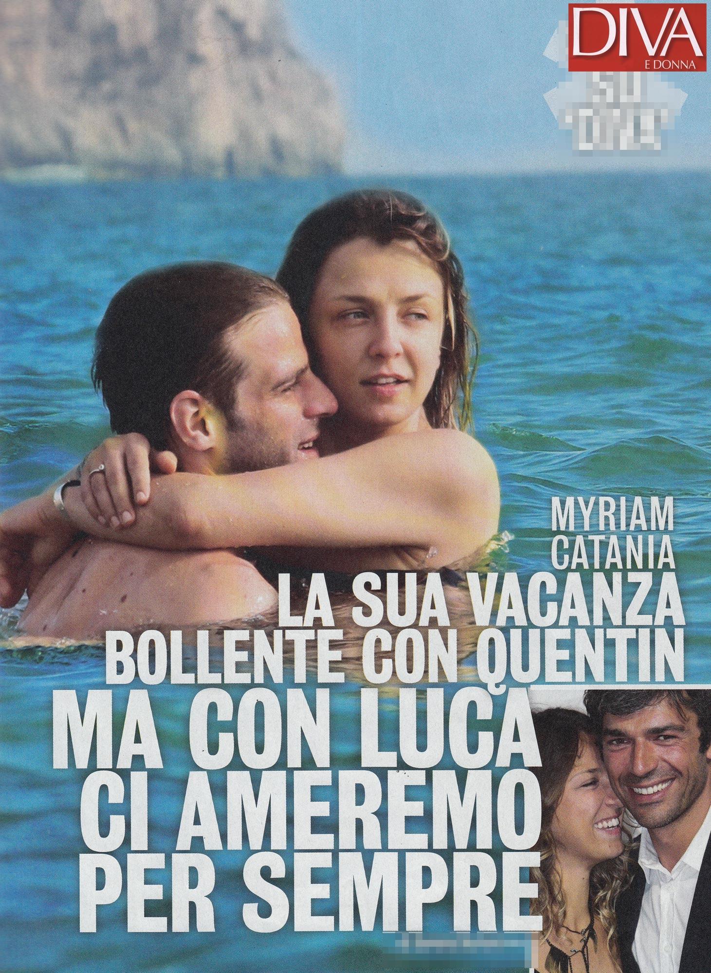 Myriam Catania Al Mare Con Un Nuovo Amore Pupia Tv