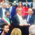 Roberto Papa premiato a Catanzaro