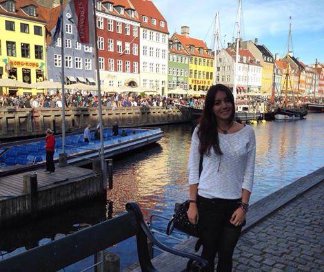 Sara a Copenhagen