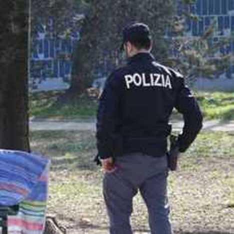 barbone polizia