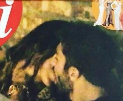 belen e iannone bacio